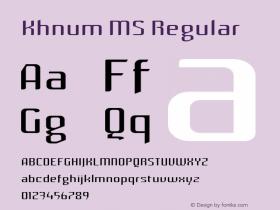 Khnum MS