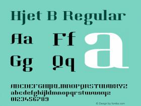 Hjet B