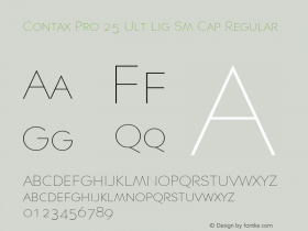 Contax Pro 25 Ult Lig Sm Cap