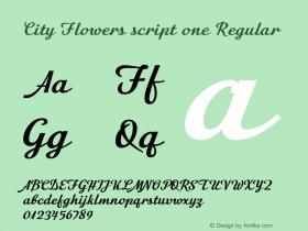 City Flowers script one
