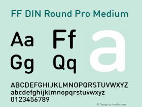FF DIN Round Pro