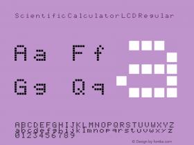 Scientific Calculator LCD