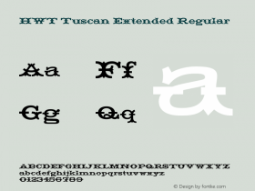 HWT Tuscan Extended