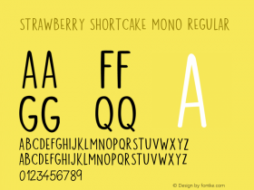 Strawberry Shortcake Mono