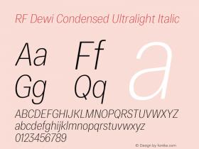RF Dewi Condensed