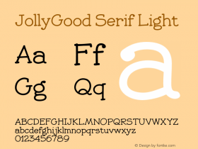 JollyGood Serif