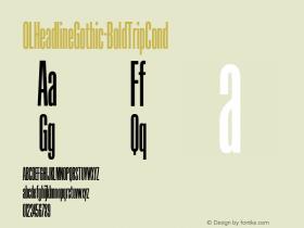 OLHeadlineGothic-BoldTripCond