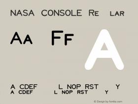 NASA CONSOLE