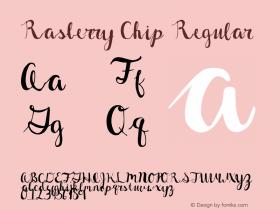 Rasberry Chip