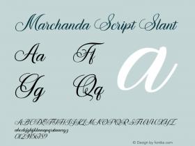 Marchanda Script
