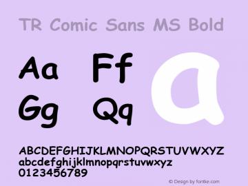 TR Comic Sans MS