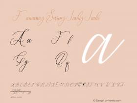 Fantastic Script Italic