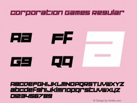 Corporation Games