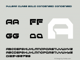 Pulsar Class Solid Condensed