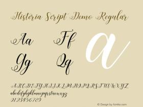 Histeria Script Demo