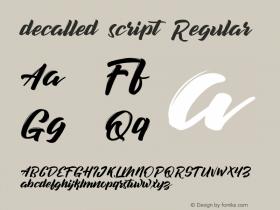 decalled script