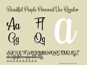 Beautiful People Personal Use