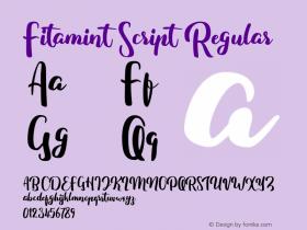 Fitamint Script
