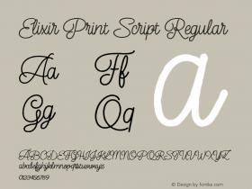 Elixir Print Script