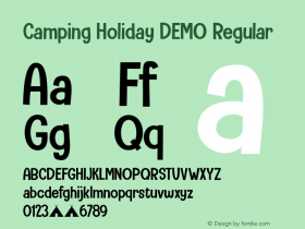 Camping Holiday DEMO