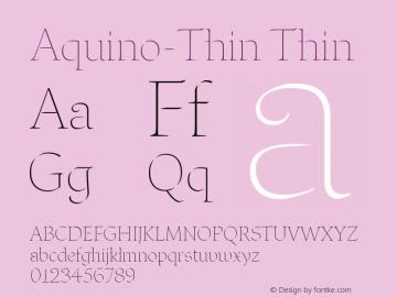 Aquino-Thin