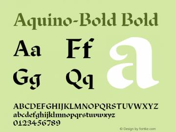 Aquino-Bold