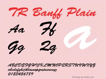 TR Banff