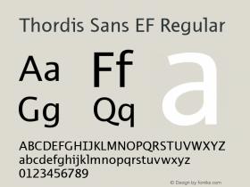 Thordis Sans EF