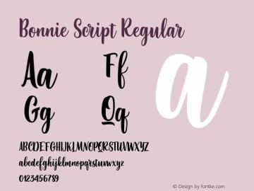 Bonnie Script