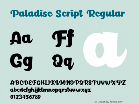 Paladise Script