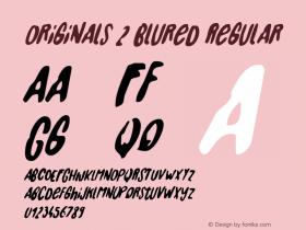 Originals 2 Blured