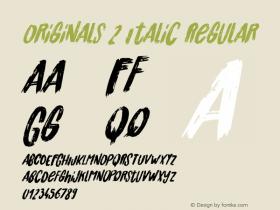 Originals 2 Italic