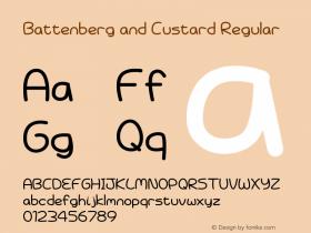 Battenberg and Custard