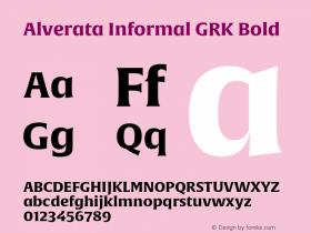 Alverata Informal GRK