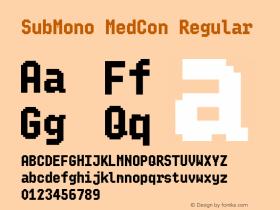 SubMono MedCon