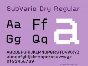 SubVario Dry