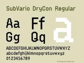 SubVario DryCon