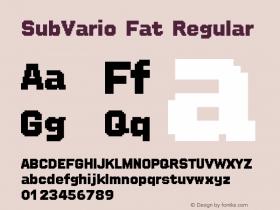 SubVario Fat