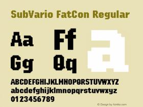 SubVario FatCon