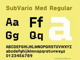 SubVario Med