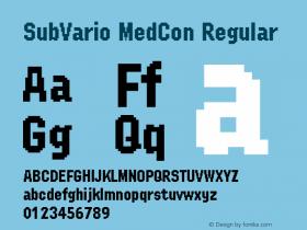 SubVario MedCon