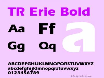 TR Erie