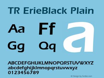 TR ErieBlack