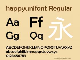 happyunifont