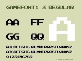 gamefont1.3