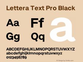 Lettera Text Pro