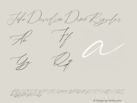 John Davidson Demo