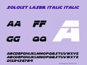 Soloist Laser Italic