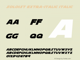 Soloist Extra-Italic