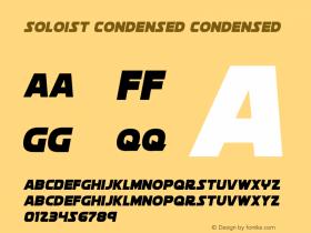 Soloist Condensed